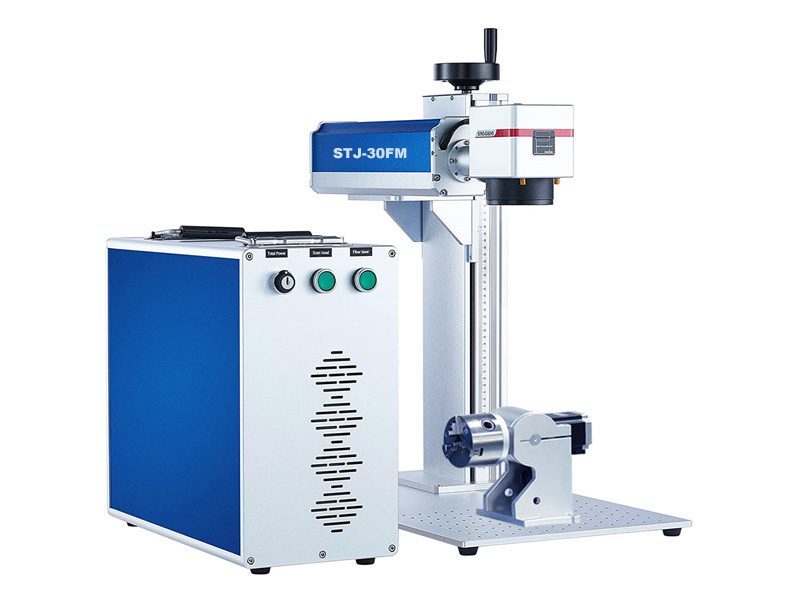 Color laser engraving machine