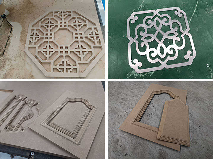 Wooden doors by CNC wood carving machine