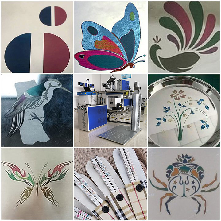 Color laser marking projects