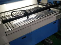 STJ1390 100w laser cutting machine for cutting acrylic