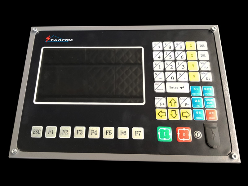 CNC plasma cutting machine control system