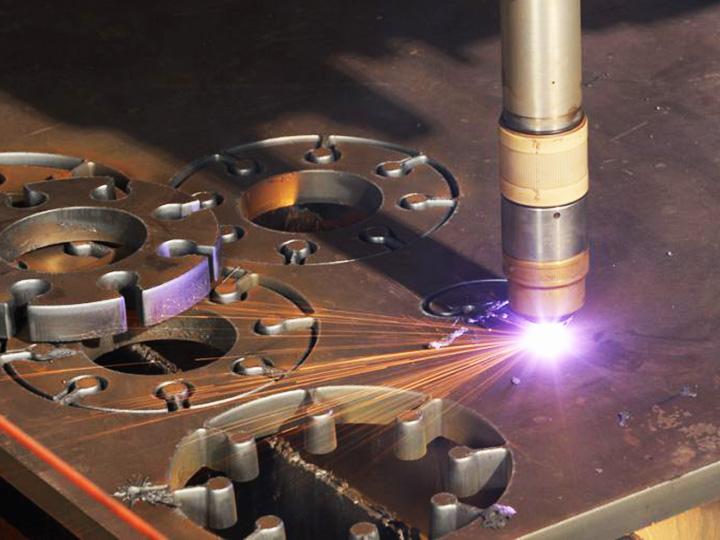 Smaples of CNC plasma cutting machine
