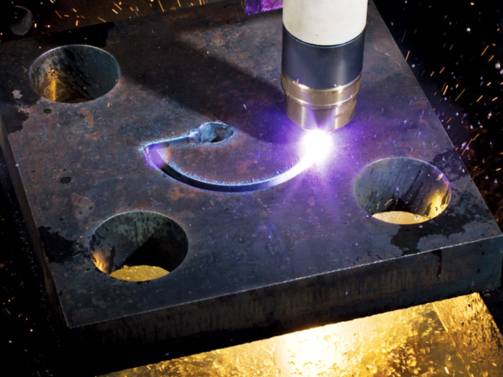 Metal Cutting samples by CNC plasma cutting machine