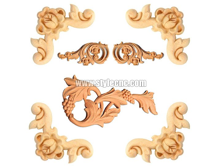 Wood arts and crafts carving by CNC router machine