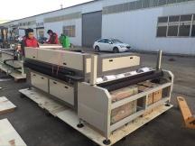 Auto feeding <i><i>fabric</i></i> <i><i>laser</i></i> <i><i>cutting</i></i> <i><i>machine</i></i> STJ1610-2A is ready for delivery to Ecuador