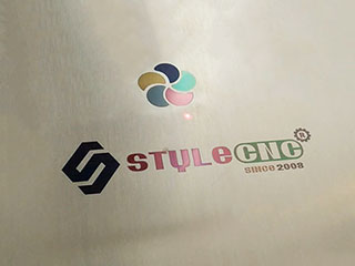 Laser Marking Color Logo on Stainless Steel by Fiber Laser Marking System