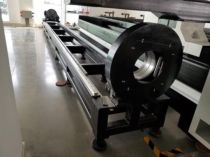 metal tubes laser cutting machine