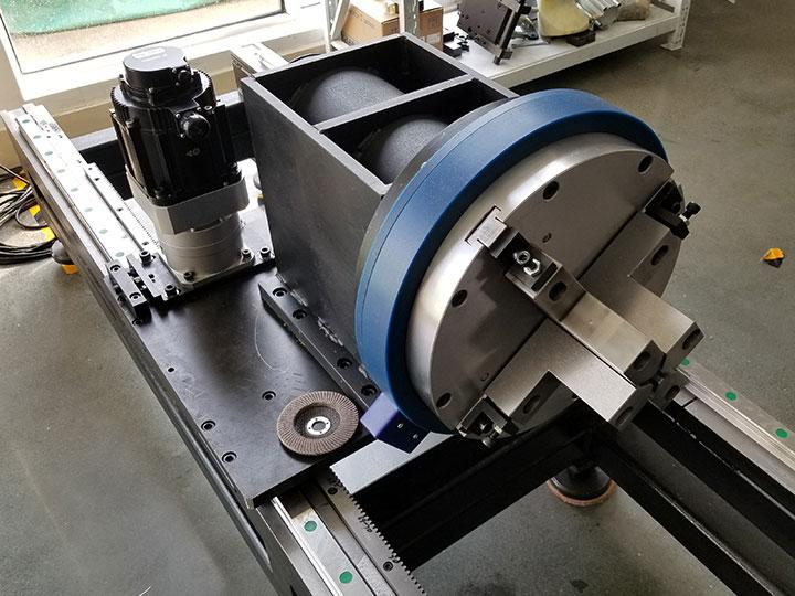 stainless steel tube laser cutting machine