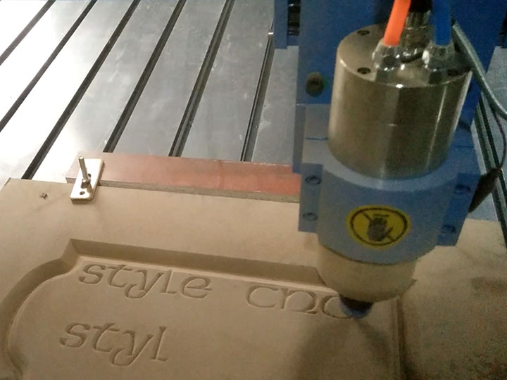 STG1224 Advertising CNC Router for Wood, MDF, Acrylic