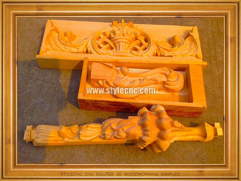 CNC Router 3D Woodworking