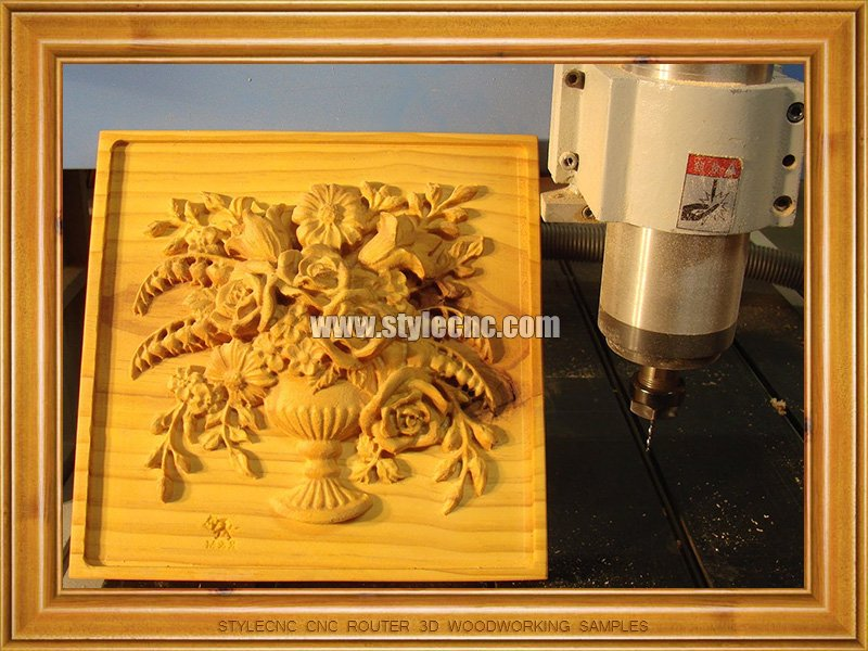 CNC Router 3D Relief Woodworking