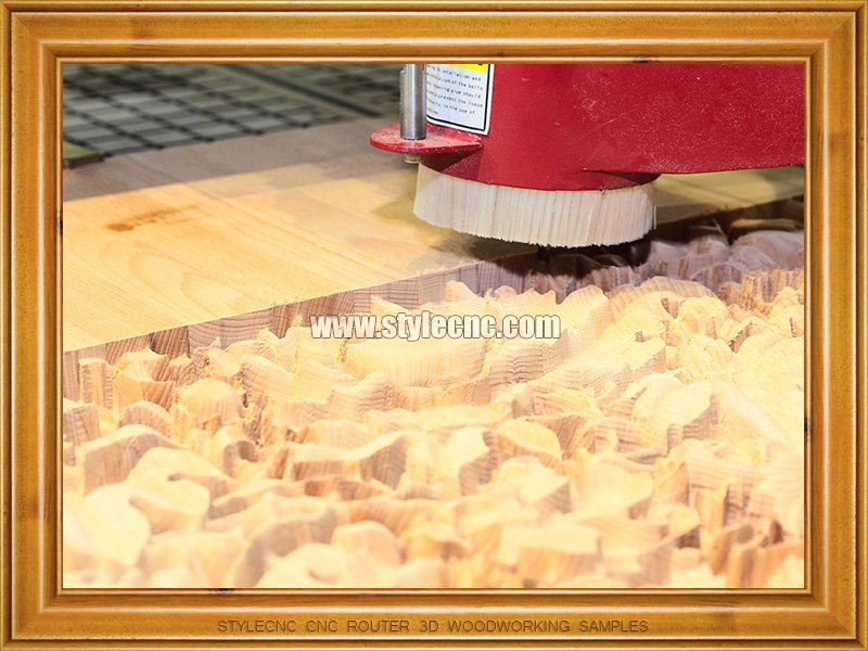 ATC CNC Router 3D Woodworking