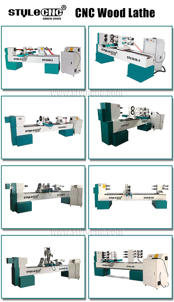 CNC wood lathe machines
