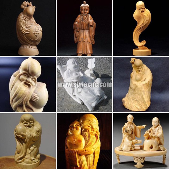 1325 CNC Router 3D Carving projects