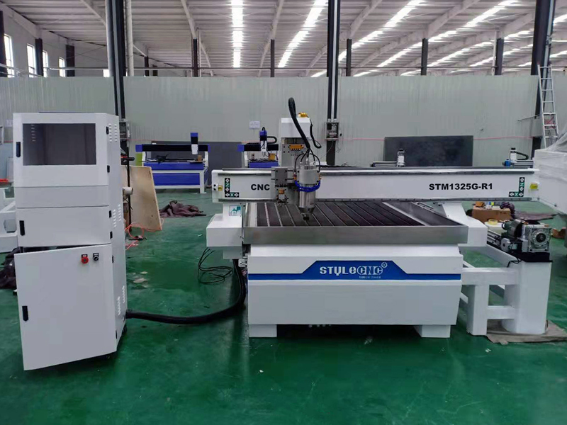 The First Picture of STYLECNC® Glass Cutting and Carving CNC Router for sale