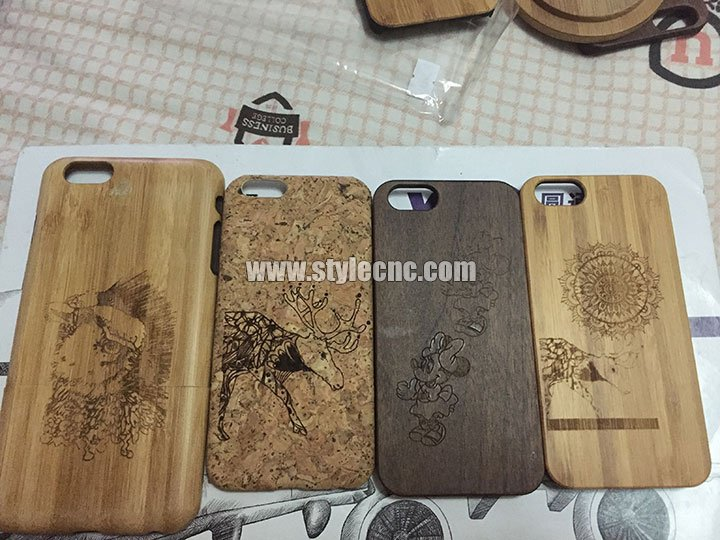 wooden iPhone cases