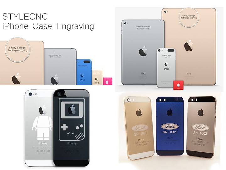 Laser Engraving Machine for iPhone Cases