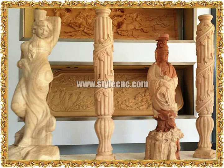 CNC Router for 3D Wood Carving