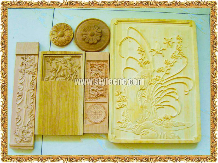 CNC Router for Wood Relief Carving