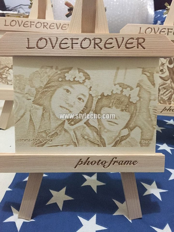 photo laser wood engraving machine