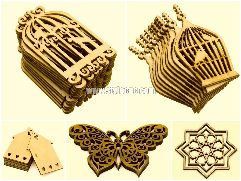 Laser wood cutting machine for wood gifts