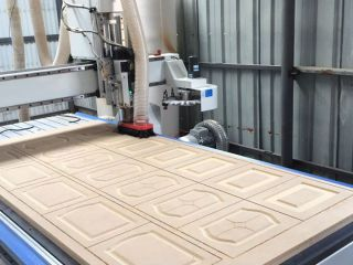 Cabinet Door CNC Router performance and characteristics