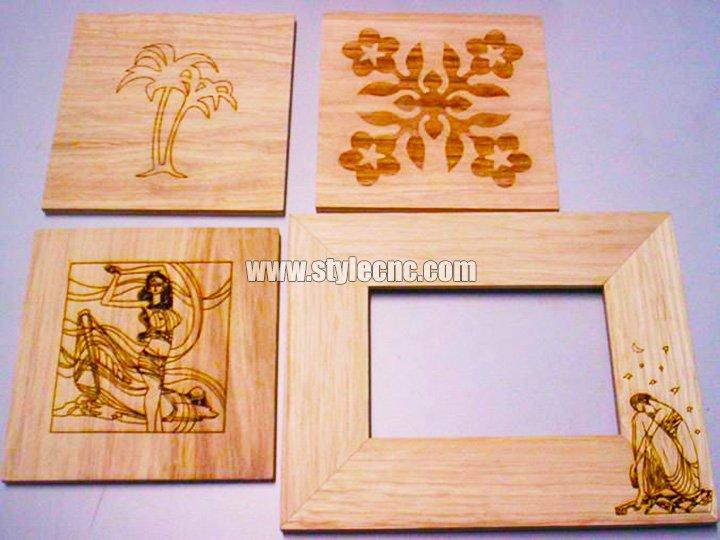 CO2 Laser Wood Cutter Samples