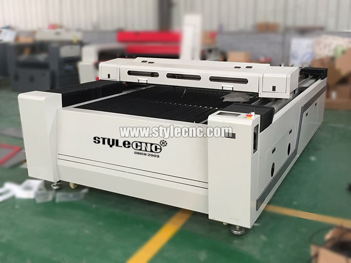 The First Picture of Big size 1325 Leather Laser Cutting Machine for sale