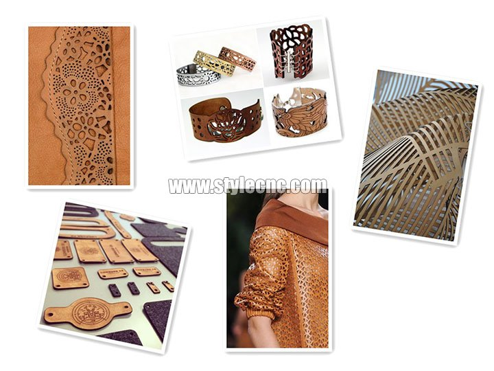 Leather laser cutting applications
