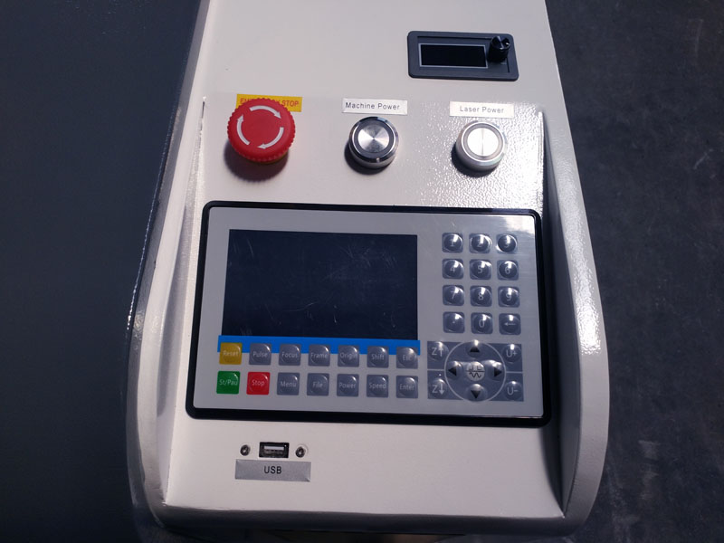 The Fourth Picture of 2 Heads CNC Laser Cutter for sale with best price