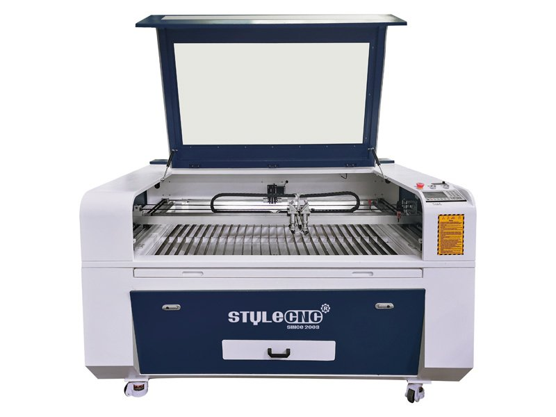 2 Heads Cnc Laser Cutter For Sale With Best Price Non