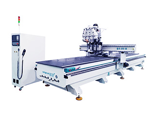 Wood Door Making CNC Router Machine with Dual Table