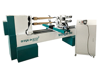 <b>New Design Automatic CNC Wood Lathe Machine for sale</b>