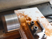 Mini wood lathe for small wood gourd turning