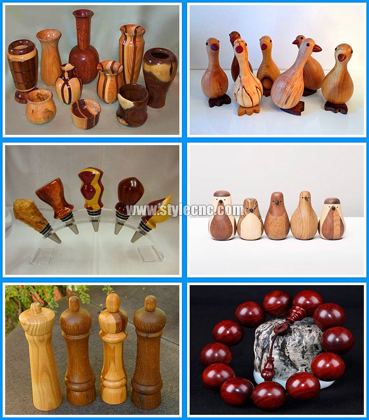 Mini Wood Lathe Samples