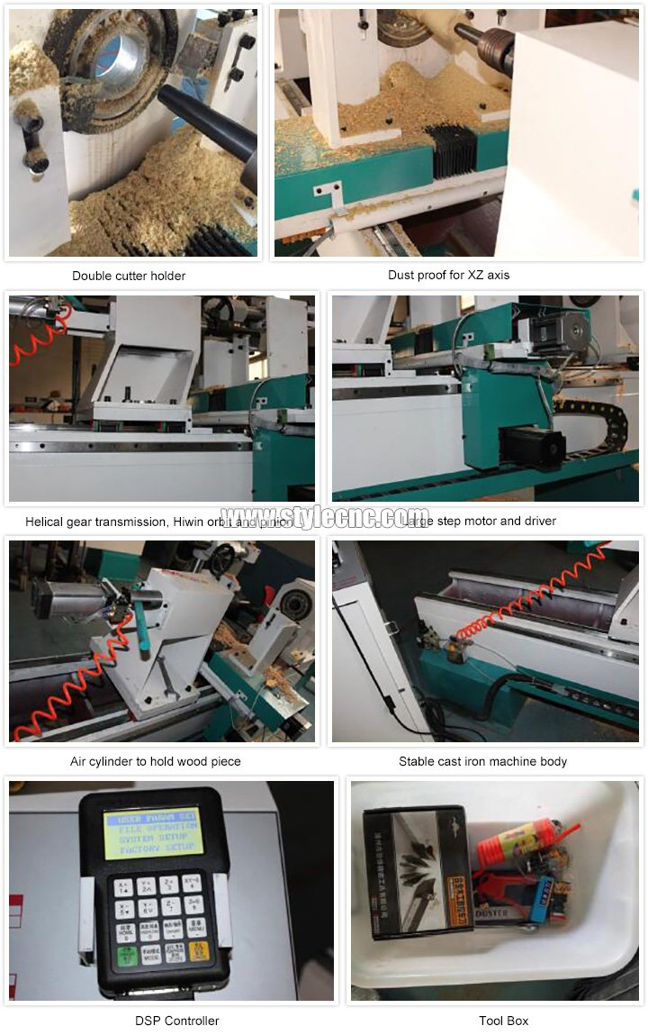 Wood Lathe Machine features