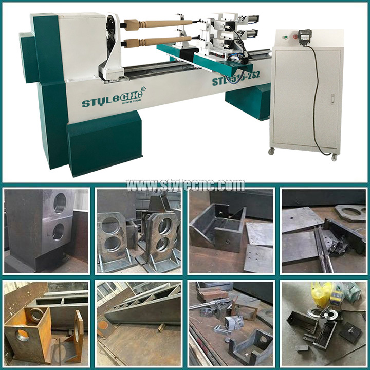 CNC Wood Lathe Machine parts