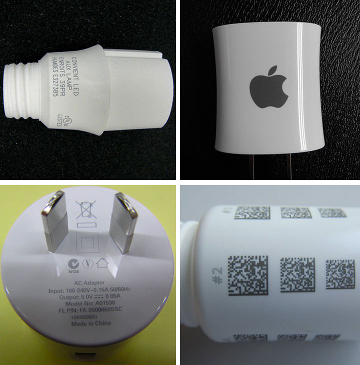 UV laser engraving plastics