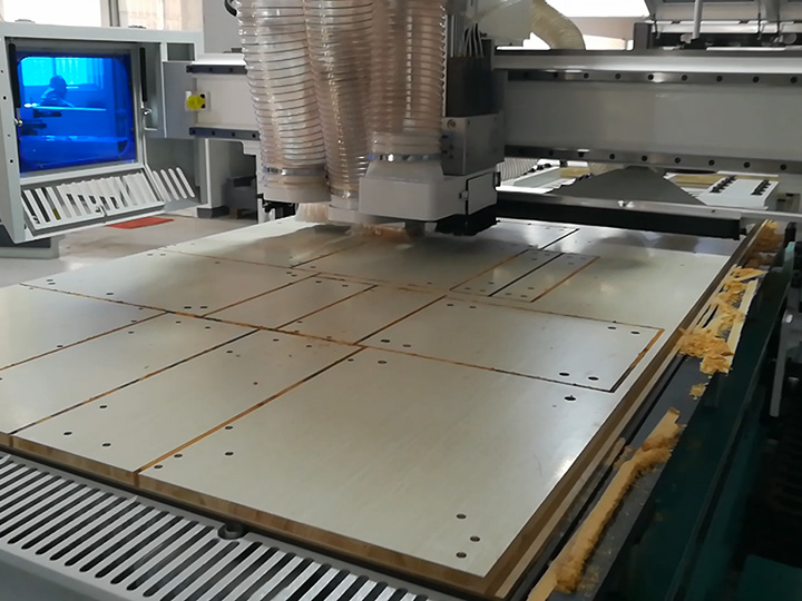 Full automatic Intelligent CNC Router S2 for cabinet furniture production