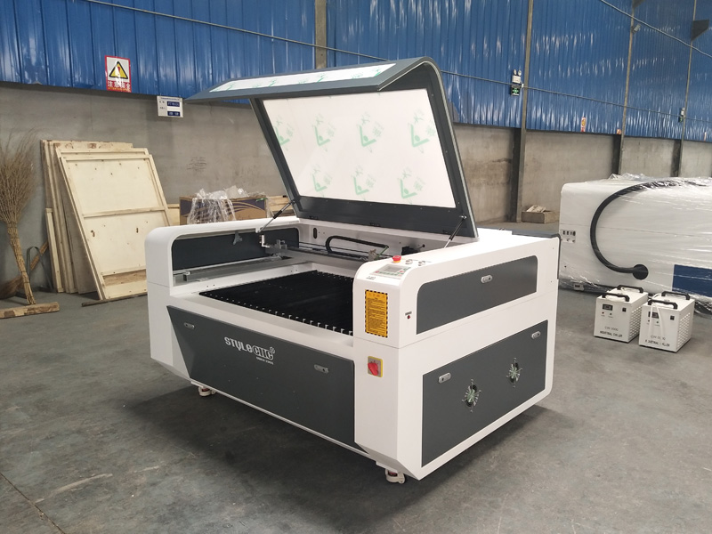 1390 Double Heads Laser Cutting Machine