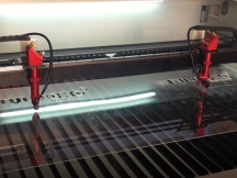 1390 Double Heads Laser Cutting Machine for Acrylic Cutting