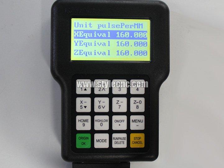 Mini Desktop CNC Router DSP numerical control system