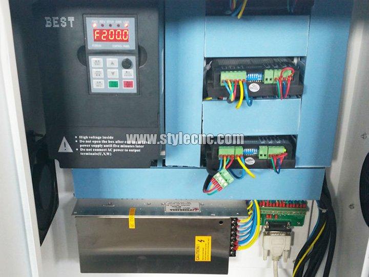 Mini Desktop CNC Router Control System