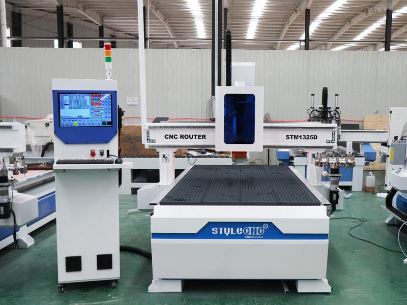 Aluminium CNC router cutting samples