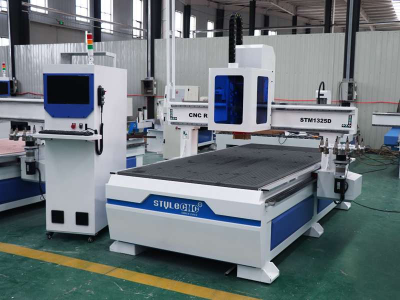 The Second Picture of STYLECNC® CNC Router for Aluminum with Disk Automatic Tool Changer System