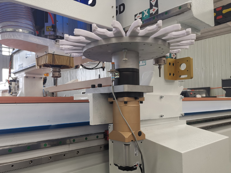 The Fourth Picture of STYLECNC® CNC Router for Aluminum with Disk Automatic Tool Changer System