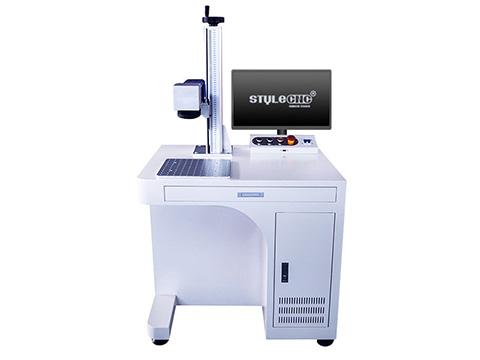 50W fiber laser deep engraving machine for metal