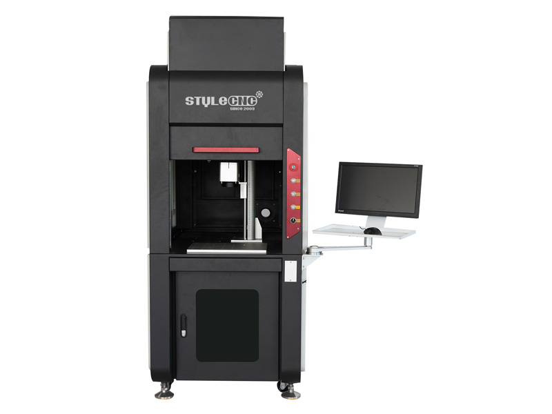 Enclosed Laser Deep Engraving Machine for Metal