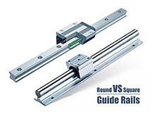 Round Guide Rails VS Square Guide Rails for CNC Routers