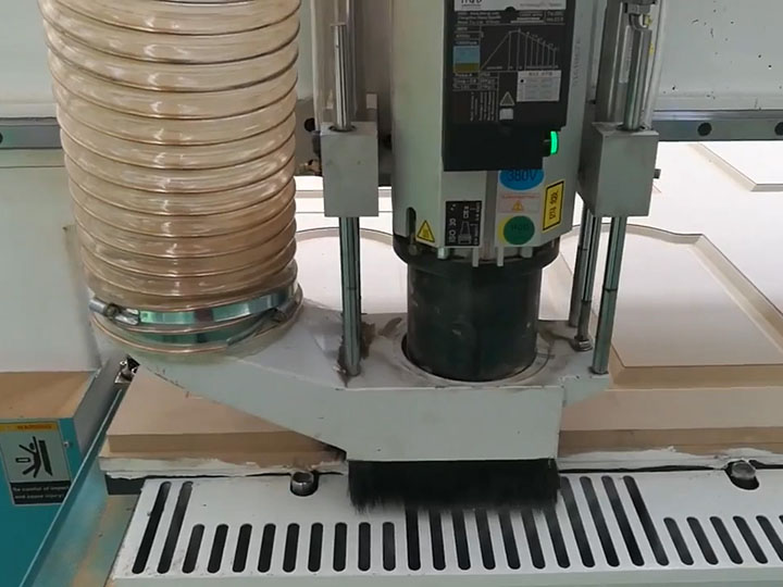 Automatic tool changer CNC Router for cabinet door making with carousel ATC system